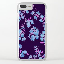 Bougainvillea casa Blue Clear iPhone Case