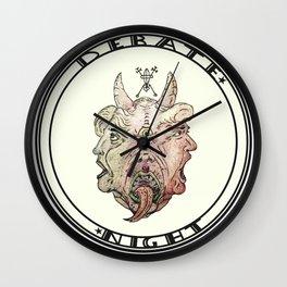 Debate Night Wall Clock