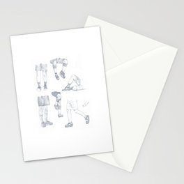 Shorts and Legs - SHINee KEY Stationery Cards