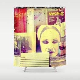 Pulp Fiction by Lika Ramati Shower Curtain