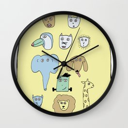 Picture Day Wall Clock