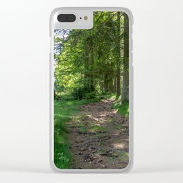 Hiking Trail - Landscape Photography Clear iPhone Case