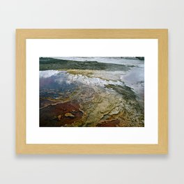 Glass Water Framed Art Print