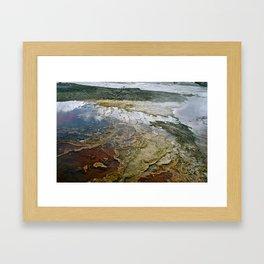 Glass Water Framed Art Print