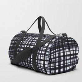 Brushed Check Duffle Bag