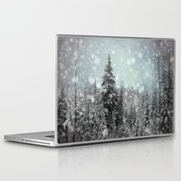 snow white Laptop & iPad Skins featuring Snow by Pure Nature Photos