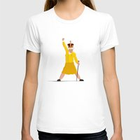queen T-shirts featuring QUEEN by Bakus