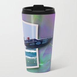 Offshore Addiction Speeds Out Of Frame Travel Mug