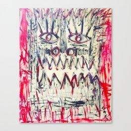 Esprit du Primitif Canvas Print