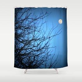 Moonlight at Dusk 2 Shower Curtain