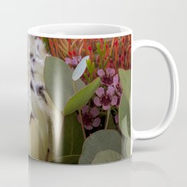 Beautiful Feather Protea Coffee Mug