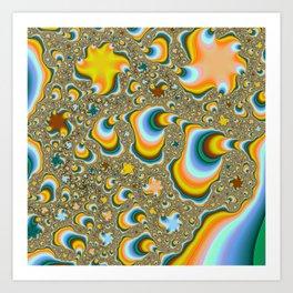 Fractal0 Art Print