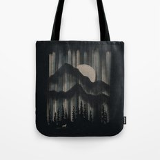 A Wolf in the Night... Tote Bag