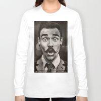 gentleman Long Sleeve T-shirts featuring Gentleman by ''CVogiatzi.