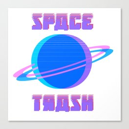SPACE TRASH Canvas Print