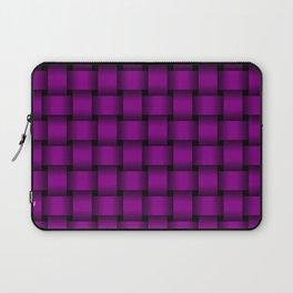 Purple Violet Weave Laptop Sleeve