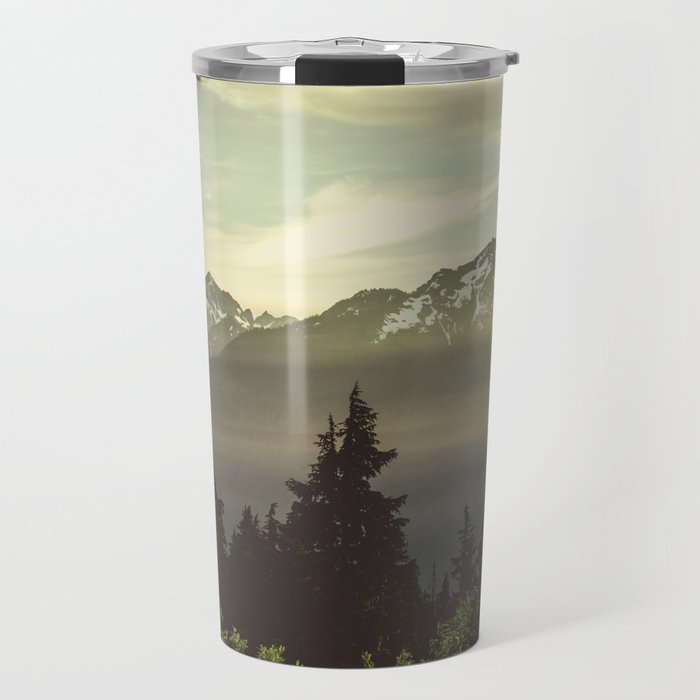 Morning in the Mountains Travel Mug
