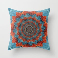 Blossoming woe Throw Pillow