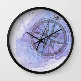 Find Me in the universe Wall Clock