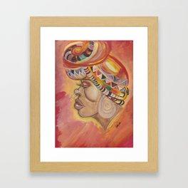 Kente Framed Art Print
