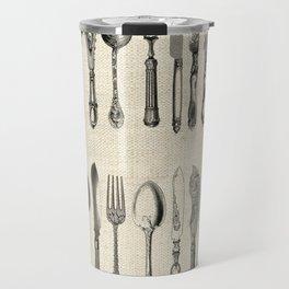 antique cutlery Travel Mug