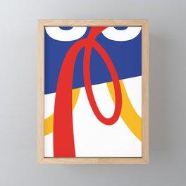 angryCORP. Minimal Pop Art Framed Mini Art Print