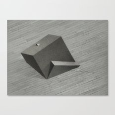 Reflected Cube Canvas Print