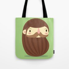 B is for Beard Tote Bag
