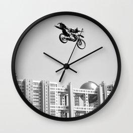 Kenny Over Odaiba, FMX Japan Wall Clock