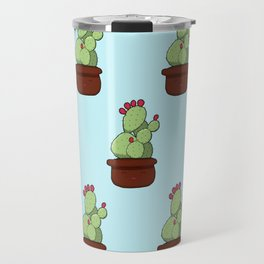 Cheery Cactus Travel Mug