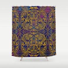 Graphic Design Shower Curtains