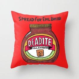 Deadite: The Evil Spread Throw Pillow