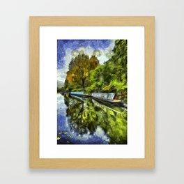 Little Venice London Art Framed Art Print