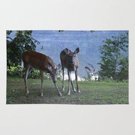 Grazing Deer Rug
