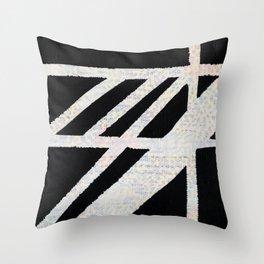 Slants Big and Little Throw Pillow