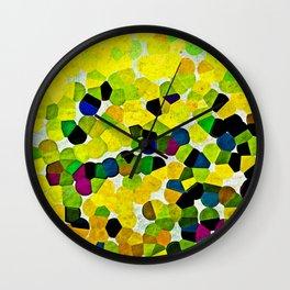 HARMONY IN LEMON Wall Clock
