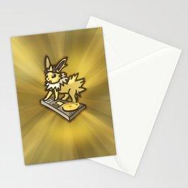 DJ Jolteon Stationery Cards