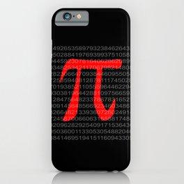 The Constant Pi iPhone Case