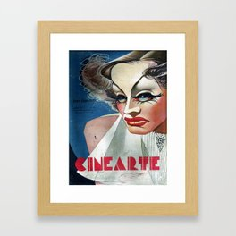CineArte 1936 Joan Crawford Framed Art Print