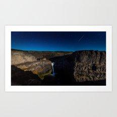 Palouse Falls - Washington USA Art Print