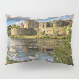 Caerphilly Castle Moat Pillow Sham