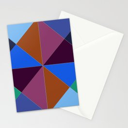 Abstract #312 Stationery Cards