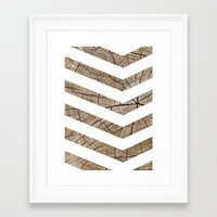 tree rings Framed Art Prints featuring Tree Rings by Ty Foley