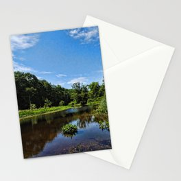Summer Afternoon on the Bashakill Wetlands Stationery Cards