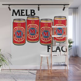 Melbournes Burning Wall Mural