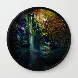 Mallyan Spout Waterfall Wall Clock