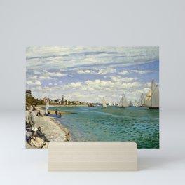 Claude Monet - Regatta at Sainte-Adresse Mini Art Print