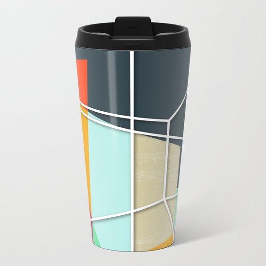 ColorBlock V Metal Travel Mug