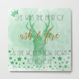 Heir of fire Metal Print
