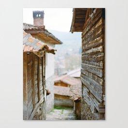 Rural Bulgarian Village Canvas Print